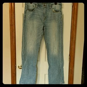 AE loose jeans 36x36